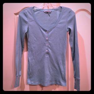 Victoria's Secret Henley Pajama Top size Small